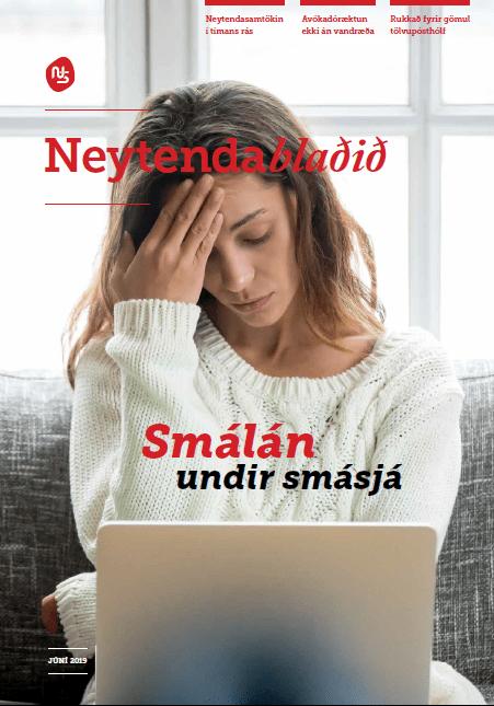 Neytendablaðið komið út